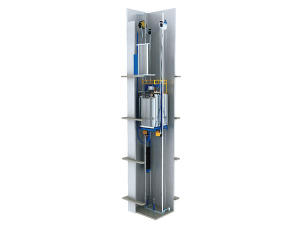 Ascensor sin cuarto de máquinas - Ascensor MRL Fabricante | ETW Mexico