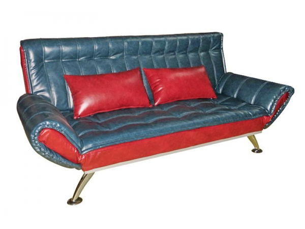 Sofá cama de cuero con brazo plegable   Yuanrich
